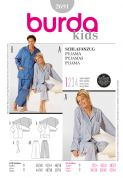 2691 Burda Pattern: Misses' and Men's Pyjamas